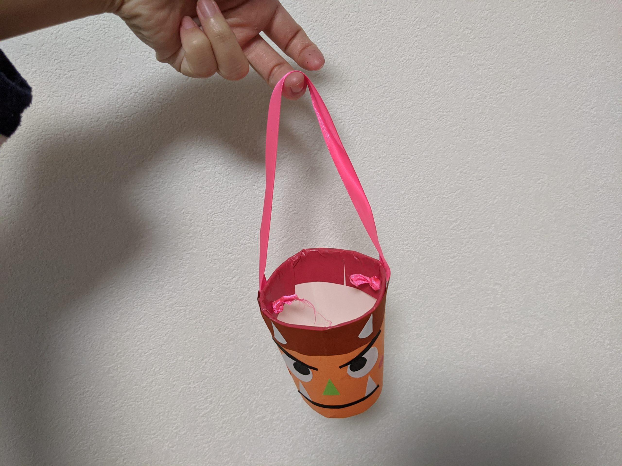 豆を入れるカップ完成
