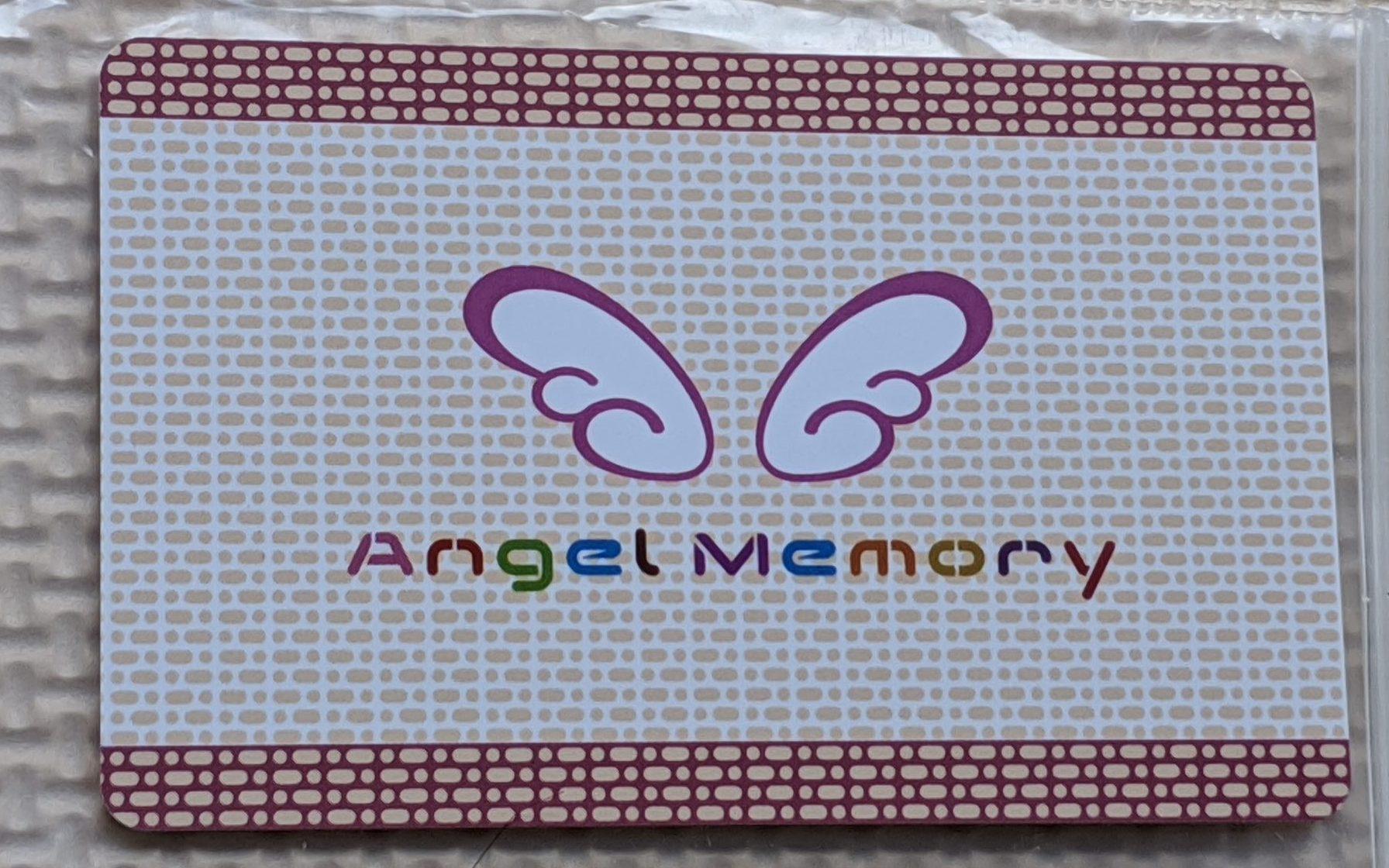 AngelMemory カード 写真