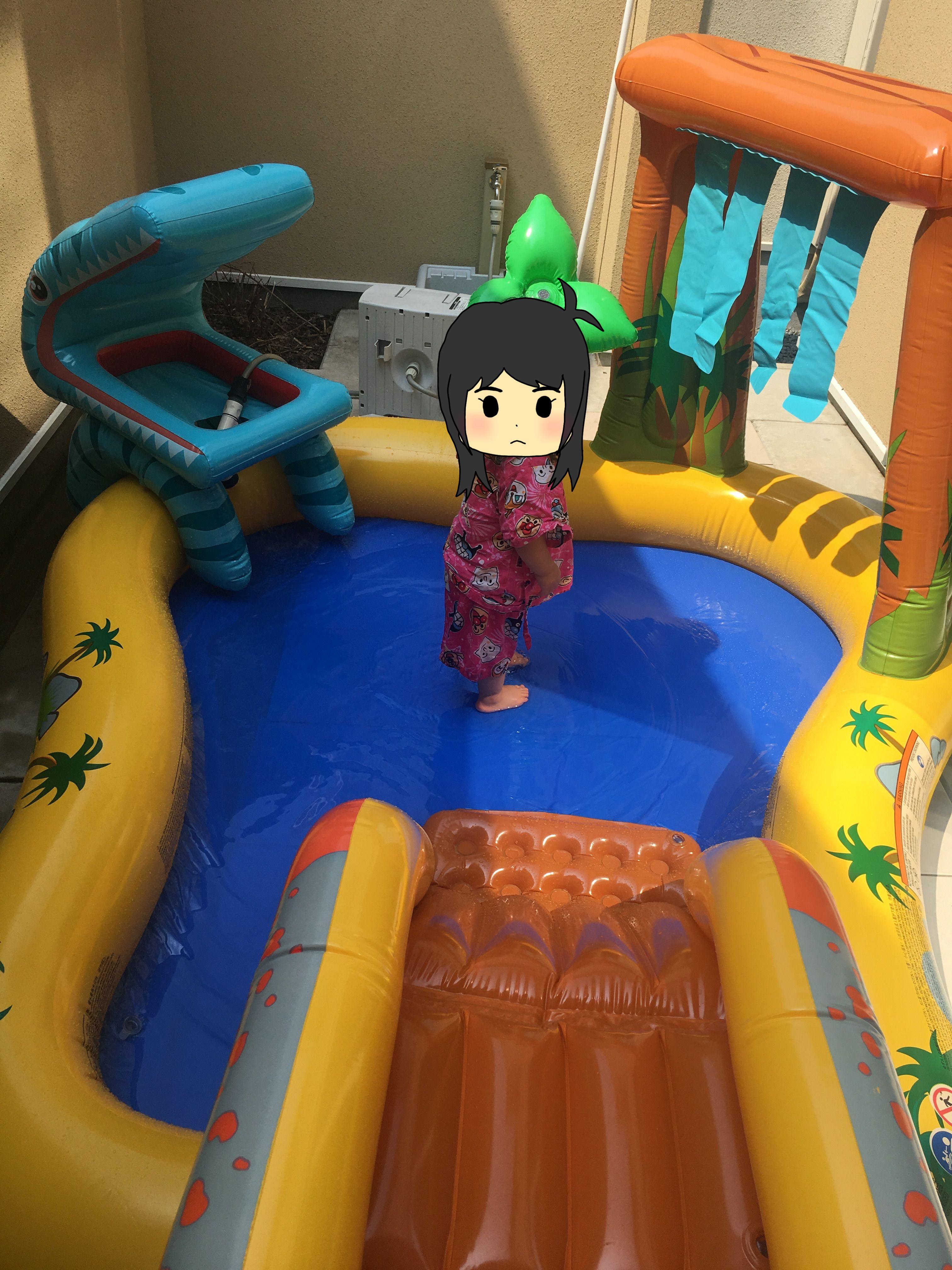自宅用 ビニールプール 子供