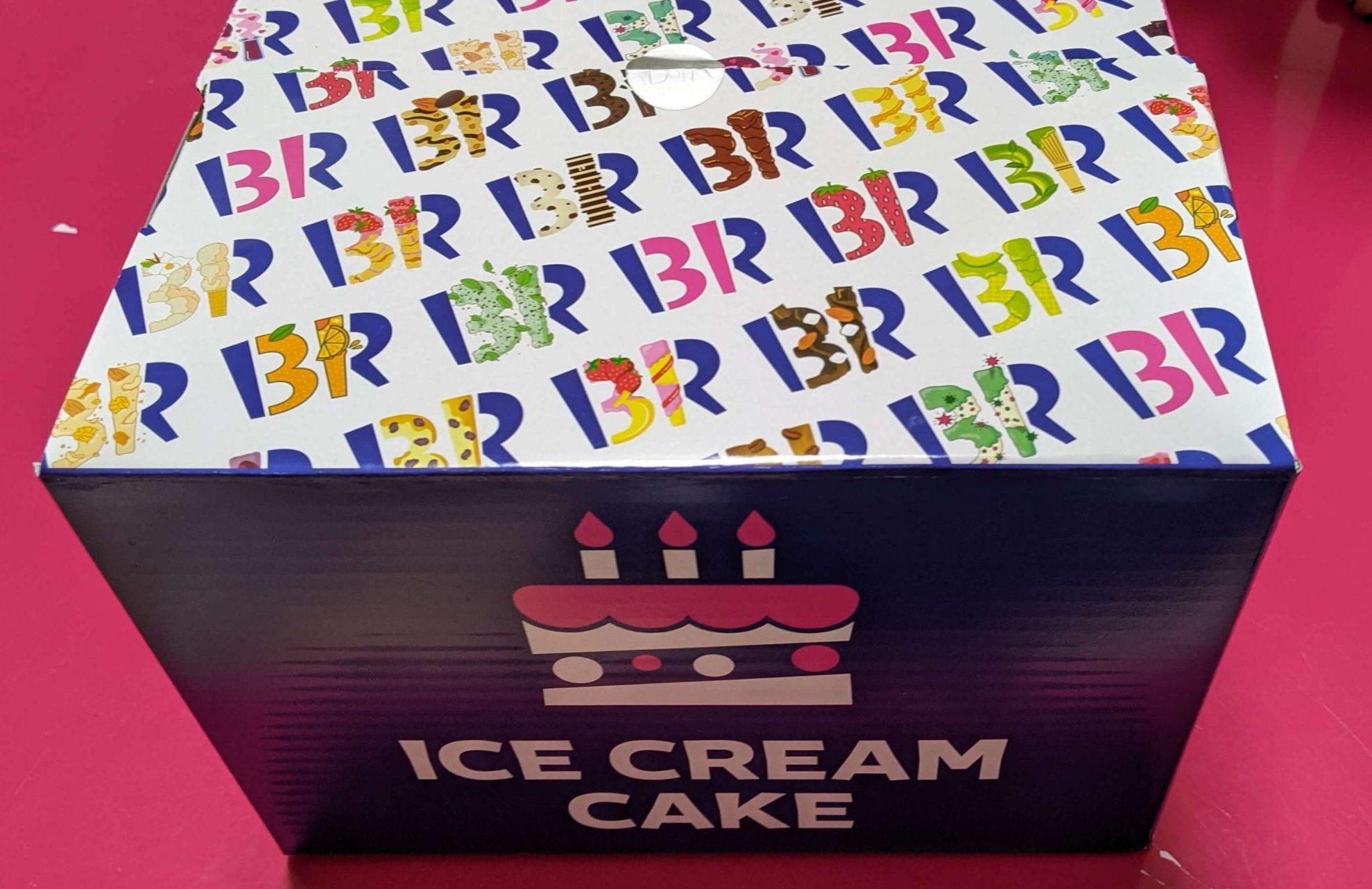 サーティワン アイスケーキ 箱