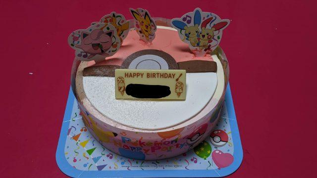 ポケモンアイスケーキ